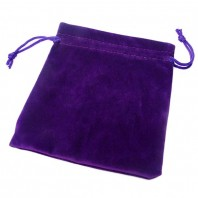 Purple Velvet Bag for Magic Cubes