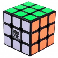 Moyu Aolong Plus 3x3 Magic Cube. Black Base