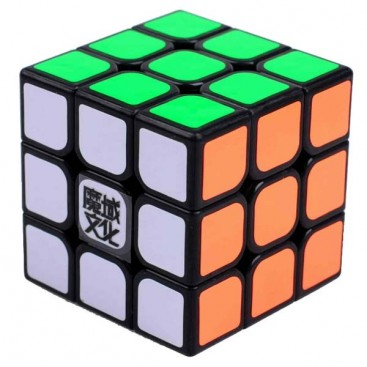 Moyu Aolong Plus 3x3 Magic Cube. Black Base