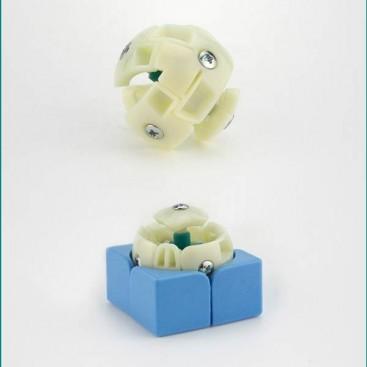 Moyu Tangpo 2x2 Cubo Mágico. Base Blanca