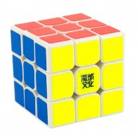 Moyu TangLong 3x3  Magic Cube. White Base