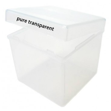 Transparent Box for Magic Cubes