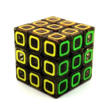 QiYi Degenerator 3x3x3 Black Translucent