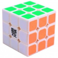 Moyu Aolong Plus 3x3 Magic Cube. White Base