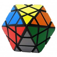 DianSheng 6-Corner-Only Magic Cube. Black Base