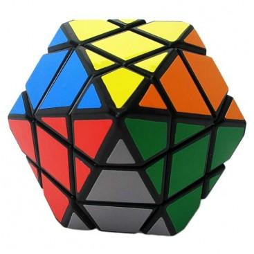DianSheng 6-Corner-Only Magic Cube. Black Base