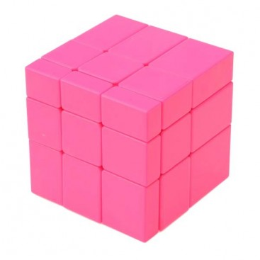 YuXin Mirror Pink Monochrome 3x3x3 Magic Cube
