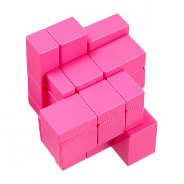 YuXin Mirror Pink Monochrome 3x3x3 Cubo Mágico