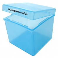 Blue Transparent Box for Magic Cubes