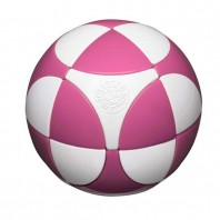 Esfera 2x2 I. Marusenko 2x2x2 Rosa y Blanco. Nivel 1