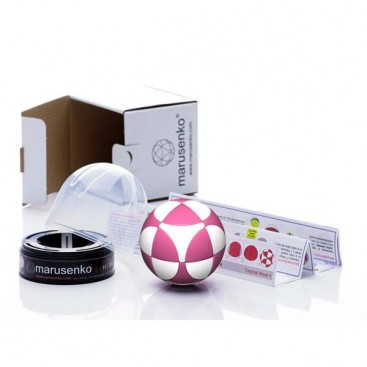 Marusenko Sphere 2x2x2 Pink and White. Level 1