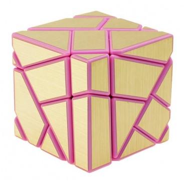FangCun Ghost Cube. Base Rosa Pegatinas Doradas