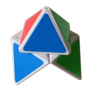 ShengShou Pyramorphix. White Base