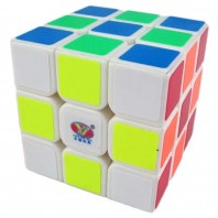 YJ Yulong 3x3x3 Magic Cube. White Base