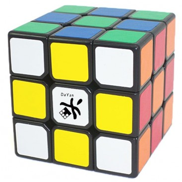 Dayan V Zhanchi 3x3x3 Magic Cube. Black Base