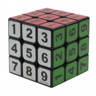 Z-Cube Sudoku 05 3x3 Magic Cube. Black Base