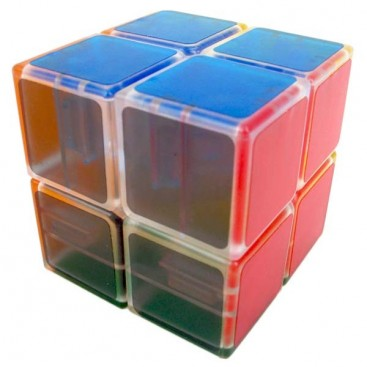 LanLan Tranks 2x2 Cubo Mágico. Transparent Base