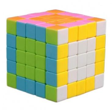 FanXin LingBing 5x5x5 Stickerless Pink
