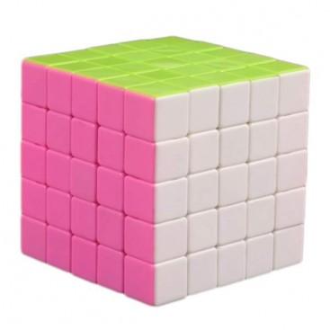 FanXin LingBing 5x5x5 Stickerless Rosa