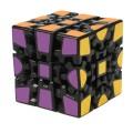 Z-Cube Gear Cube V2. Black Base. Thermal Transfer Stickers