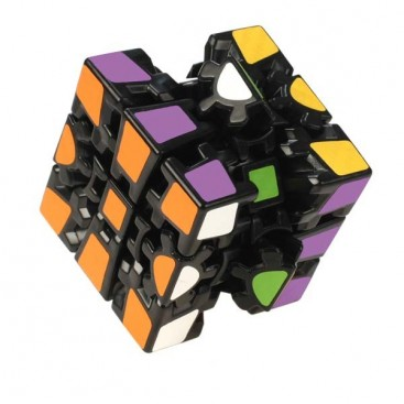 Z-Cube Gear Cube V2. Black Base. Thermal Transfer Stickers