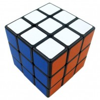 Shengshou Sujie 3x3x3 Magic Cube. Black Base