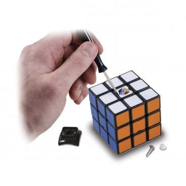 Rubik cube 3x3x3 40 anniversary. Rubik's cube 3x3 signed by Erno Rubik.