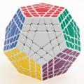 ShengShou Gigaminx. Black Base Minx Cube