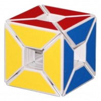 LanLan Edge Only Void Cube. White Base