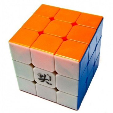 Dayan V Zhanchi 3x3x3 Stickerless 6-Colores Blanco