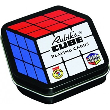 Card Game Rubik's Cube 3x3 . Poker.