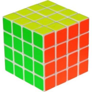 YJ GuanSu 4x4x4 Magic Cube. White Base