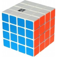 YJ Shensu 4x4x4 Cubo Mágico. Base Blanca