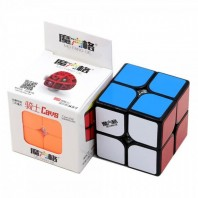Qiyi Cavs 2x2 Magic Cube. Black Base