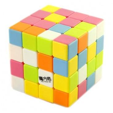 QiYi MoFangGe 4x4x4 Cubo Mágico Stickerless