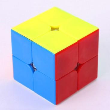 Qiyi CAVS 2x2  Magic Cube. base de preto
