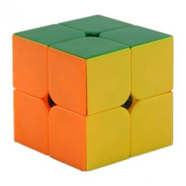 Qiyi Cavs 2x2 Magic Cube. Stickerless