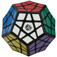 QiYi Galaxy Megaminx Concave. Black base
