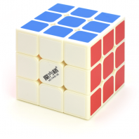 QiYi Qihang 3x3x3 Magic Cube 68mm. Base Blanche