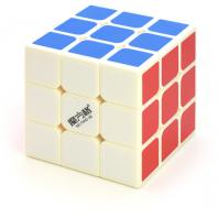 QiYi Qihang 3x3x3 Magic Cube 68mm. Weisse Basis