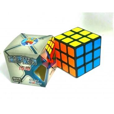 Shengshou Legend 3x3x3 Magic Cube. Black Base