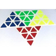 Pyraminx Stickers Set