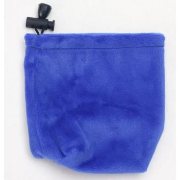 Bolsa Azul de Veludo para Cubos Mágicos