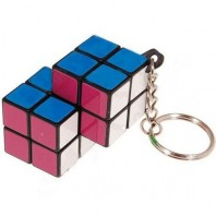 DOUBLE key ring or SIAMESE 2 x 2 x 2