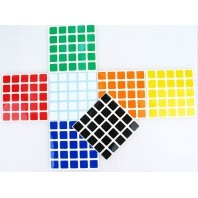 V-Cube 6x6 Stickers White Set. Magic Cube Replacement
