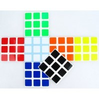 Half Bright 3x3 Stickers Set