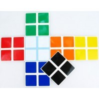 Stickers for V-CUBE 2X2X2