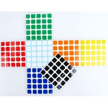 V-Cube 5x5 Stickers Set.