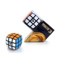 V-Cube 3b Pillow Magic Cube. Black Base