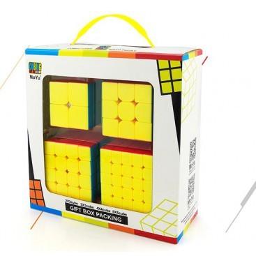 Lot Z-Cube 5 cubes de fibres de carbone